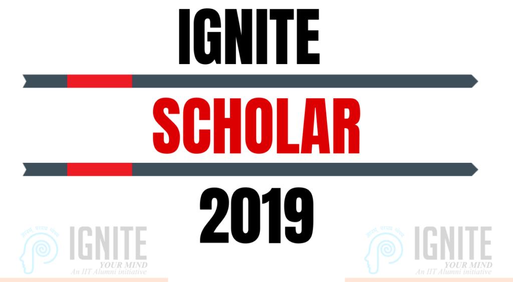 IGNITE Scholar 2019