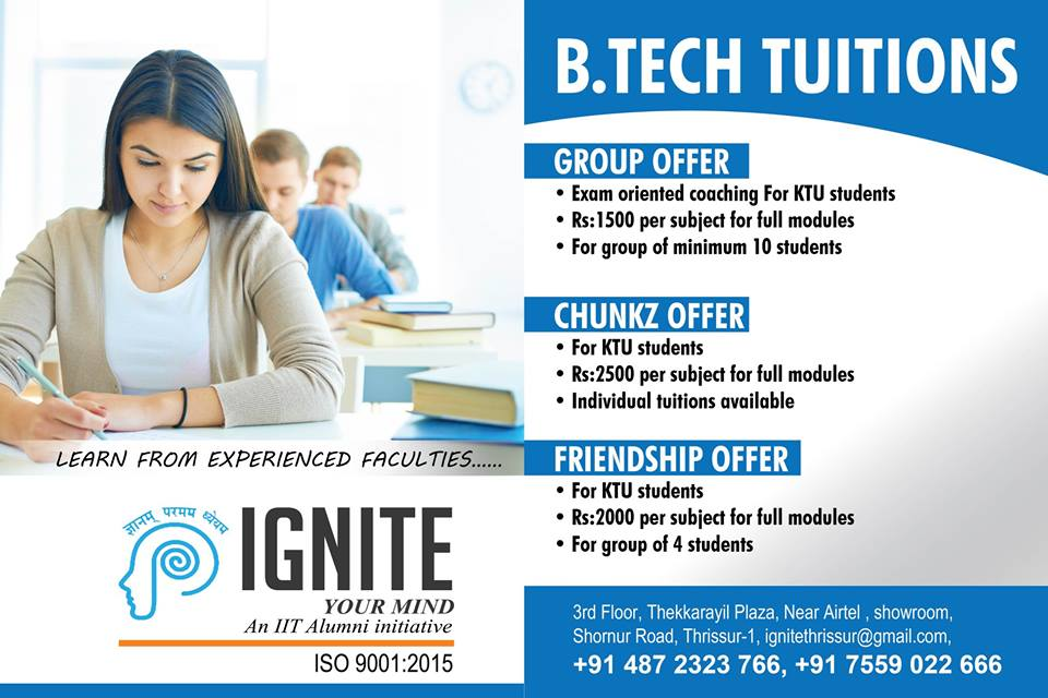btech tuition centres in thrissur