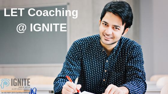 LET Coaching @ IGNITE