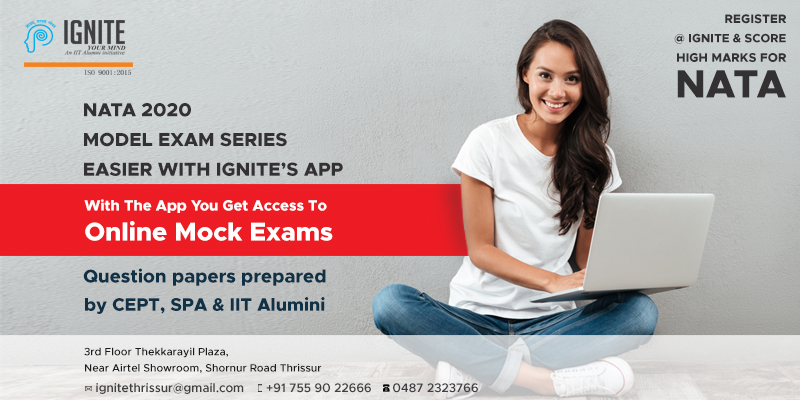 Study NATA & JEE Online at home using Ignite's Guru App